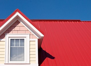 With the right shade, even a roof can make a statement